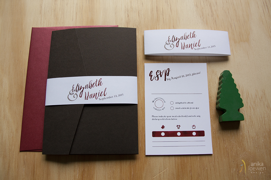 elizabeth and daniel – wedding stationery inspiration package
